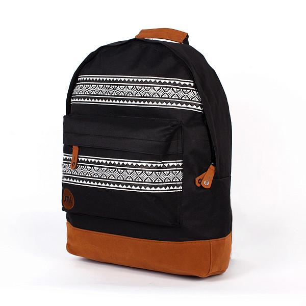 Рюкзак MI-PAC Nordic (Black-001) рюкзак mi pac premium cord brown 001