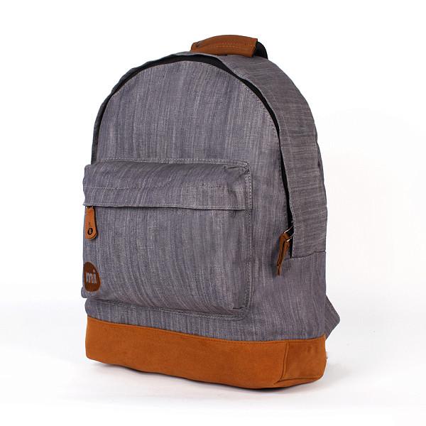 Рюкзак MI-PAC Premium Denim (Grey-010) рюкзак mi pac premium cord brown 001