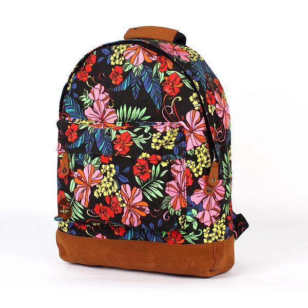 Рюкзак MI-PAC Premium Floral (Tropical Floral Neon Black) рюкзак mi pac premium cord brown 001