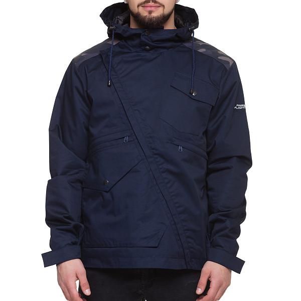 Куртка FREE FLIGHT 152503 (Синий-Камуфляж, XL)