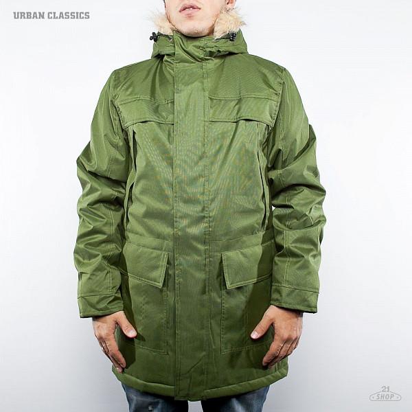 Куртка URBAN CLASSICS Winter Parka (Olive, S) куртка городская nixon meyer parka 2016 olive xl
