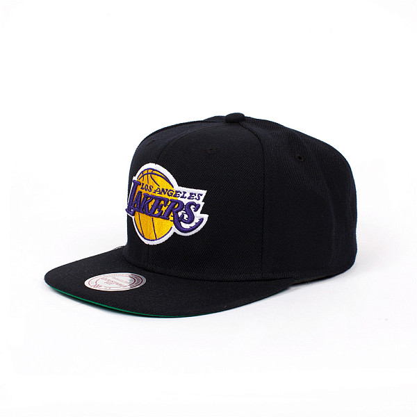 Бейсболка MITCHELL&NESS La Lakers Snapback (Black, O/S) lucky child комплект футболок 3 шт lucky child 685283