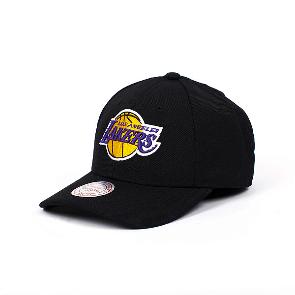 Бейсболка MITCHELL&NESS Los Angeles Lakers Snapback (Black, O/S) баскетбольную форму lakers