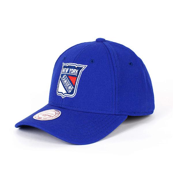 купить  Бейсболка MITCHELL&NESS Ny Rangers Snapback (Blue, O/S)  недорого