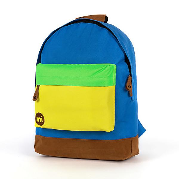 Рюкзак MI-PAC Tonal Tri-Tone (Royal/Yellow/Green-354) рюкзак mi pac premium cord brown 001