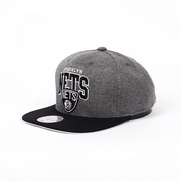 Бейсболка MITCHELL&NESS Brooklyn Nets EU119 (Grey, O/S) 93 mitchell