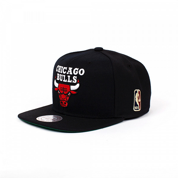 Бейсболка MITCHELL&NESS Chicago Bulls NL15Z (Black, O/S) 93 mitchell