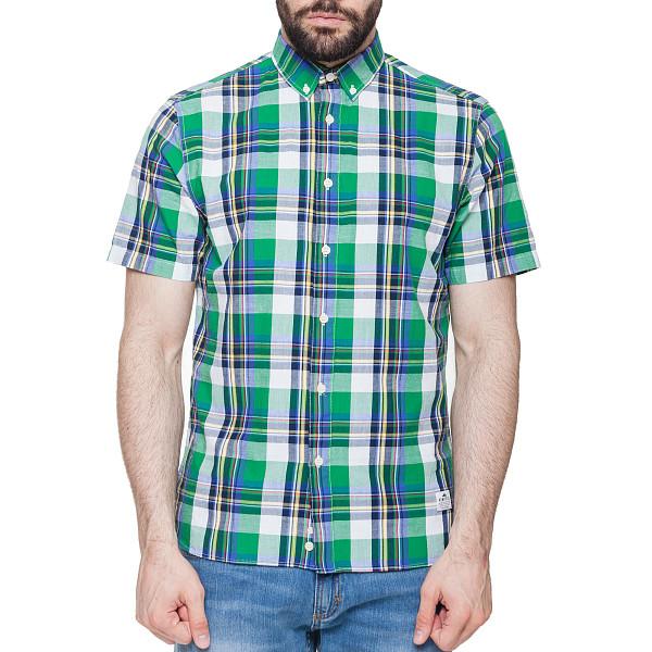 Рубашка PENFIELD Nolan Check Shirt (Green, L) куртка penfield penfield pe018emitg67