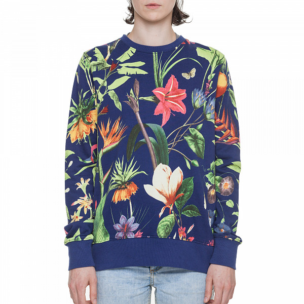 Толстовка PENFIELD Belmont Botanical Crew Sweat женская (Navy, S) duracell cef14 4 hour charger