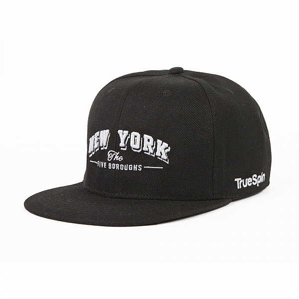 Бейсболка TRUESPIN New York (Black, O/S) selected homme куртка