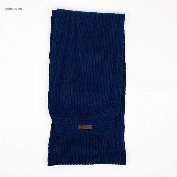 Шарф HARRISON Benjamin Scarf (Navy) шарф вязаный minecraft greeper scarf в асс