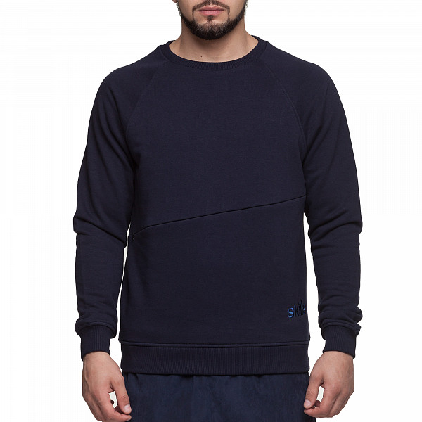 Толстовка SKILLS Departmen Crewneck V (Navy, XS) michael kors new navy blue women s size xs studded hi low crewneck sweater $130