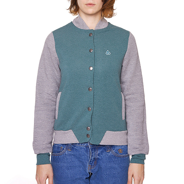 Куртка TURBOKOLOR W Woda Jacket FW13 (Mint/Grey/Heather, XS)