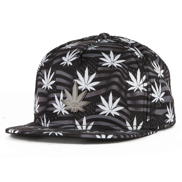 Бейсболка CAYLER & SONS Eric Cap (Black/Grey/White, O/S) eric peterson frommer s® montana