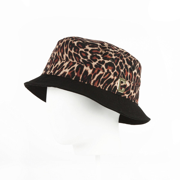fiorelli fh7969 black leo Панама CAYLER & SONS Psycho Leo Bucket Hat (Leo/Black/Gold, L/XL)