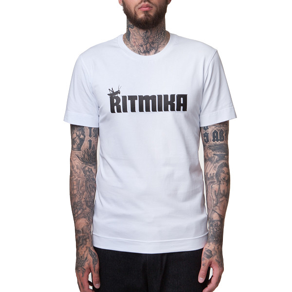 Футболка RITMIKA Logo White (Белый, M)