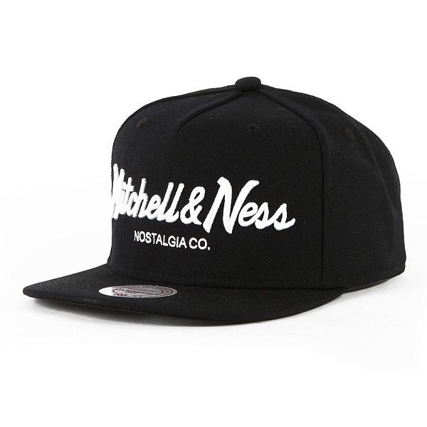 Бейсболка MITCHELL&NESS Pinscript Own Snapback EU336 (Black/White, O/S) 93 mitchell