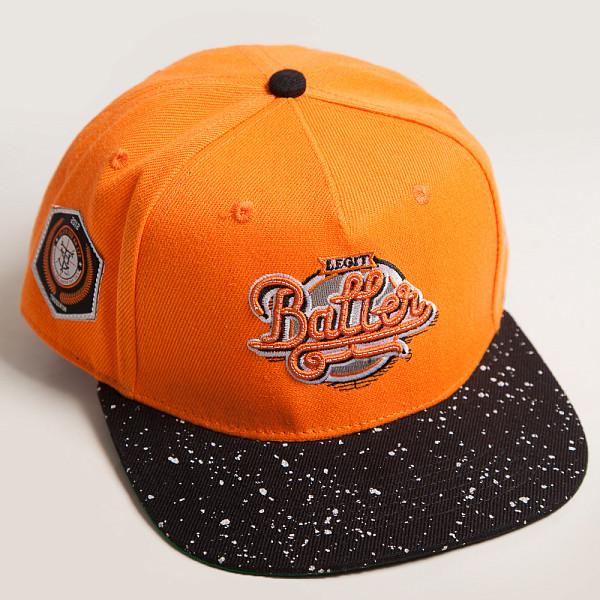 купить Бейсболка TRUESPIN Splatter Baller (Orange, O/S)