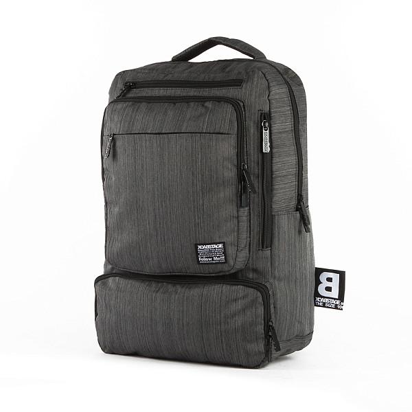 Рюкзак BACK STAGE BT6086 (Dark Grey) рюкзак back stage 2729 galaxy rose