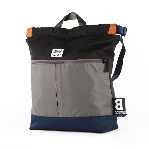 Рюкзак BACK STAGE BT6139 (Grey/Black) рюкзак back stage 2729 galaxy rose