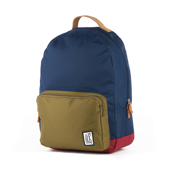 Рюкзак THE PACK SOCIETY D-Pack Backpack (Navy/Olive/Burgundy-25)