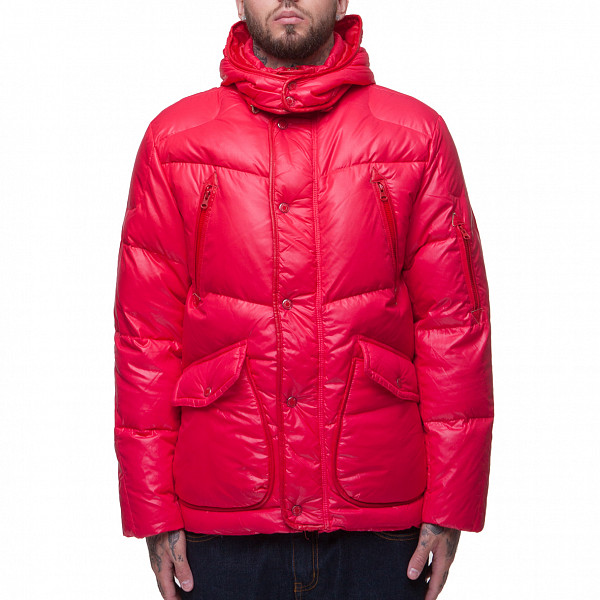 Куртка CROOKS & CASTLES Grizzly Parka (Red, 3XL) куртка городская nixon meyer parka 2016 olive xl