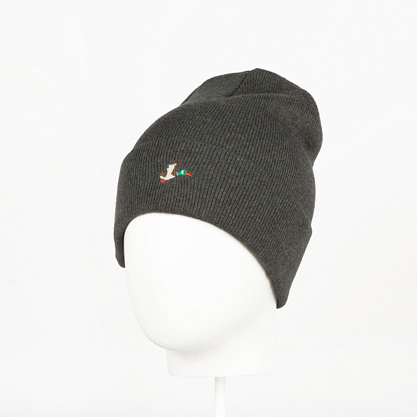 Шапка ЗАПОРОЖЕЦ Ditch 86 Beanie Small (Dark Grey Melange)