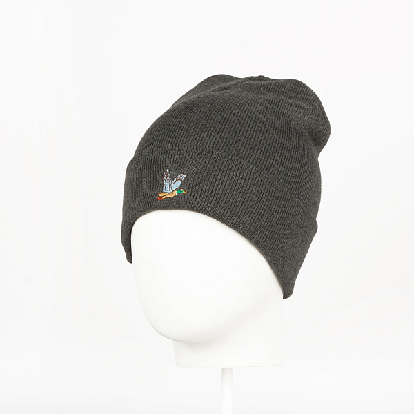 Шапка ЗАПОРОЖЕЦ Ditch Beanie Small (Dark Grey Melange)