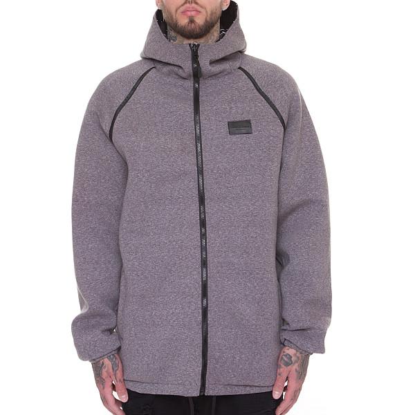 Куртка CROOKS & CASTLES Blotter Reversible Parka (Black-Speckle Grey, XL) куртка городская nixon meyer parka 2016 olive xl