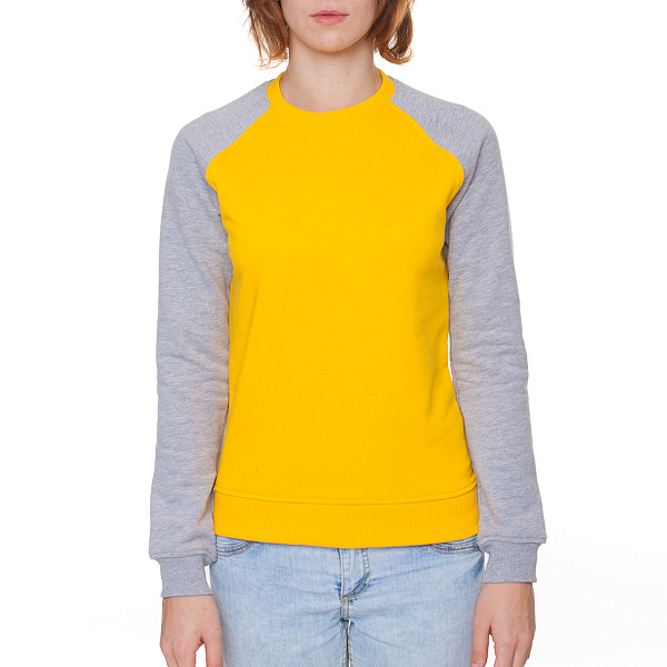 Толстовка SKILLS Show Your Skills женская (Yellow/Grey Melange, L) skills шапка skills 001 yellow