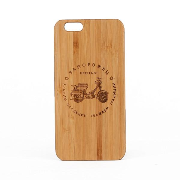 Чехол ЗАПОРОЖЕЦ Мопед Дерево (Коричневый, IPhone 7) чехол запорожец узор дерево коричневый iphone 7