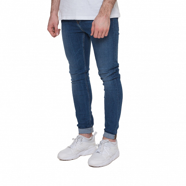 Джинсы CARHARTT Trevor Pant Slim I023021 (Blue True Stone, 34/32) джинсы узкие dc washed slim jea pant light stone