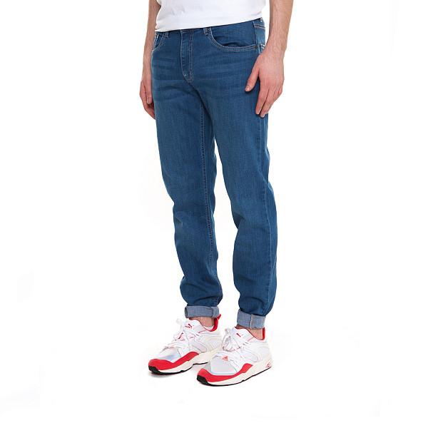 Джинсы URBAN CLASSICS Stretch Denim Pants (Blue Washed, 36)  брюки urban classics spray dye sweatpants sky blue s