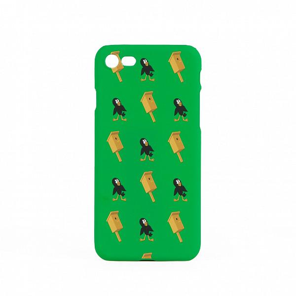 Чехол ЗАПОРОЖЕЦ Простоквашино Скворец (Зеленый, IPhone 6) чехол запорожец узор дерево коричневый iphone 7