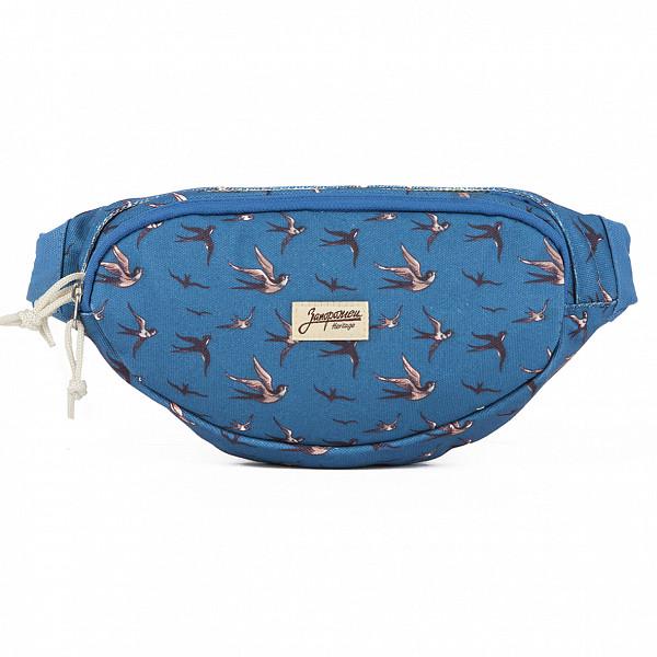 все цены на Сумка ЗАПОРОЖЕЦ Canvas Waist Bag (New Blue) онлайн