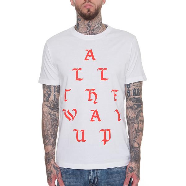 Футболка MISTER TEE All The Way Up Tee (White, S)
