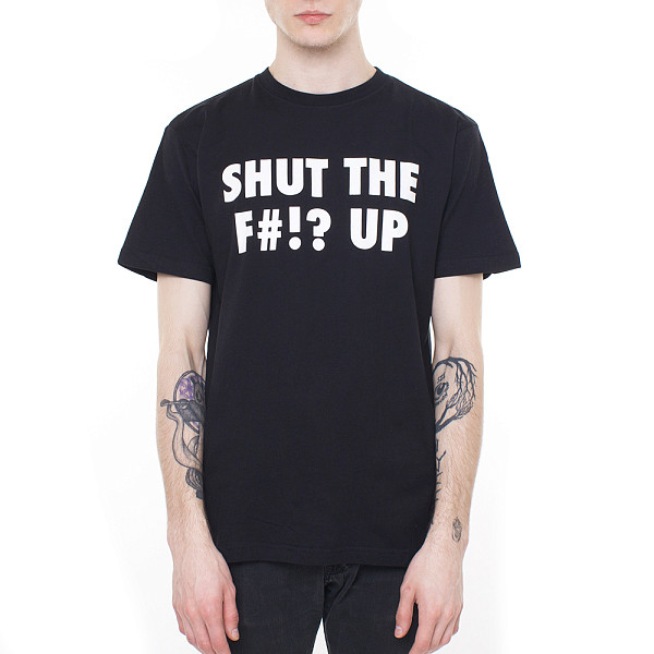 Футболка MISTER TEE Shut ... Up (Black, XL)