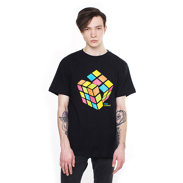 Футболка MISTER TEE Cube (Black, 2XL) benq benq sh915