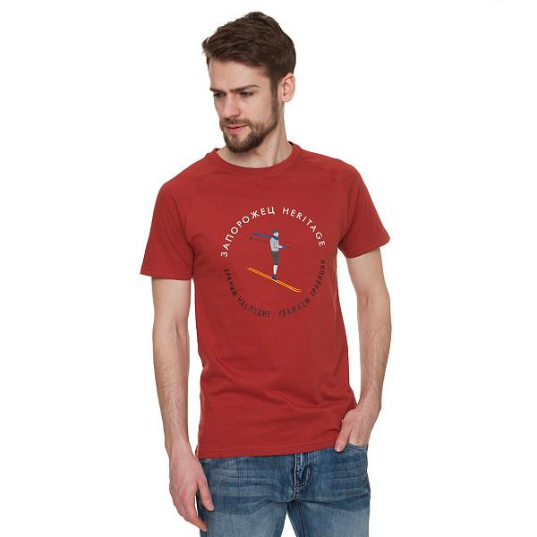 Футболка ЗАПОРОЖЕЦ Lignik (Red, 2XL)