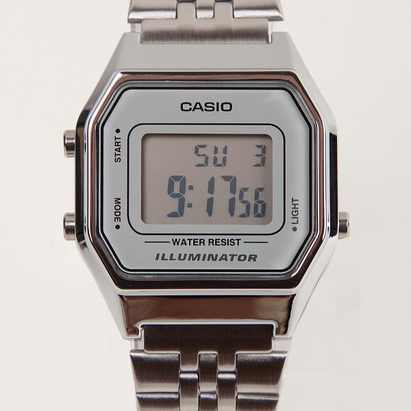 Часы CASIO LA680WEA-7E 3284 (Хром-7E) casio la680wea 7e