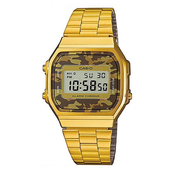 Часы CASIO A-168WEGC-5E 1275/3298 (Золотой/Зеленый-5E)