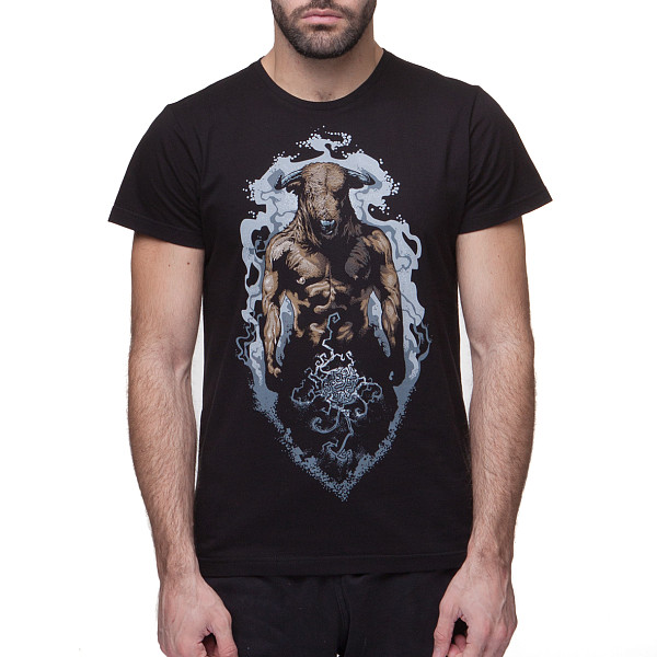 Футболка BREATHE OUT Minotaur T-Shirt (Черный, XS) купить