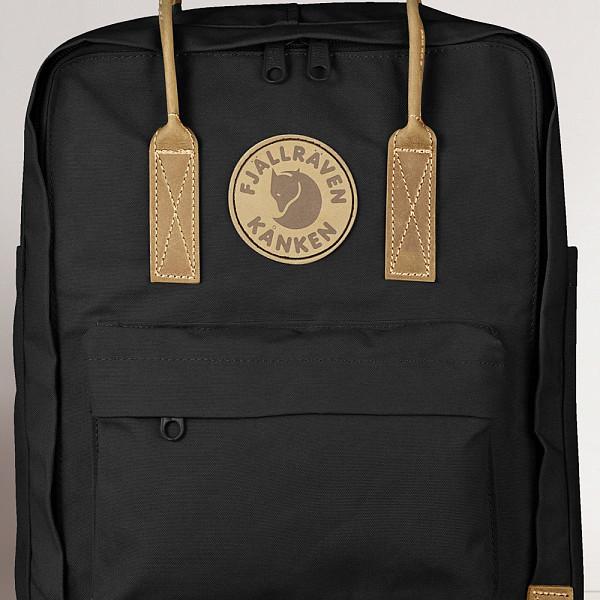 цена  Рюкзак FJALLRAVEN Kanken №2 (Black-550)  онлайн в 2017 году