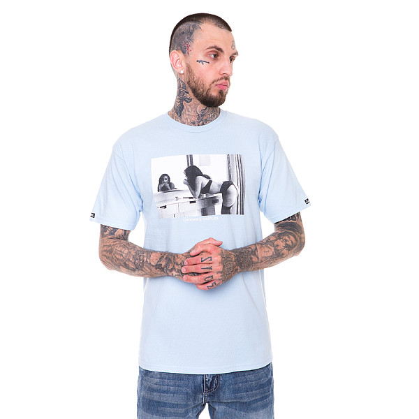 Футболка CROOKS & CASTLES Come Get It (Sky Blue, L)