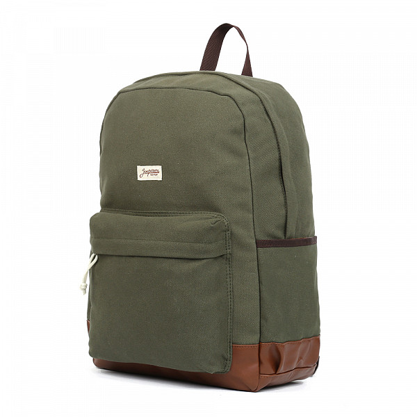 Рюкзак ЗАПОРОЖЕЦ Daypack Classic SS17 (Green/Brown) шапка запорожец zap classic logo sky brown yellow