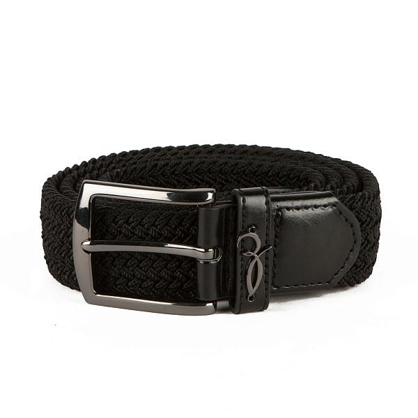 Ремень ЗАПОРОЖЕЦ Classic Elastic Belt (Black, 125 см) ремень fallen suits belt black