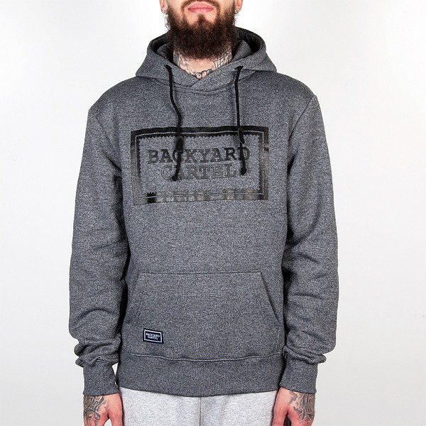 Толстовка BACKYARD CARTEL Label (Dark Grey Heather, XL)
