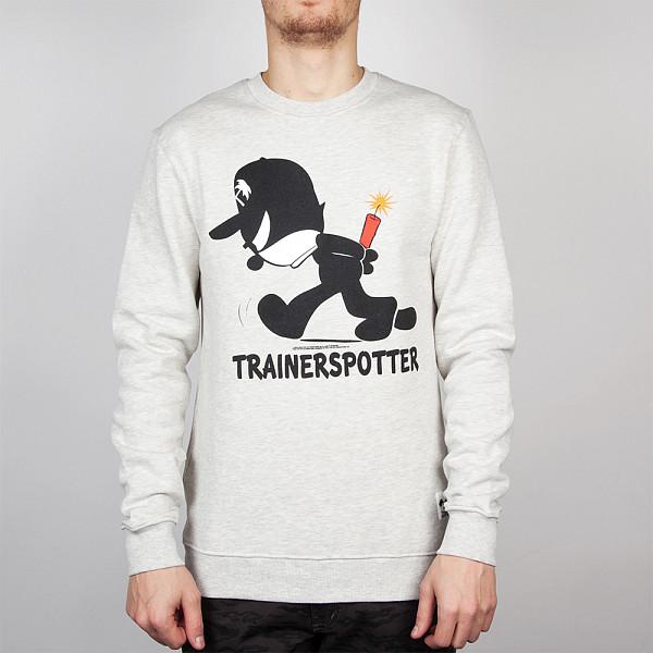 цена  Толстовка TRAINERSPOTTER Felix Dynamite Crew (Oatmeal-A, XS)  онлайн в 2017 году