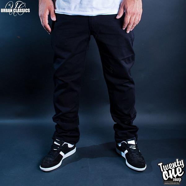 Брюки URBAN CLASSICS 5 Pocket Pants (Black, 34) urban 5 мадрид