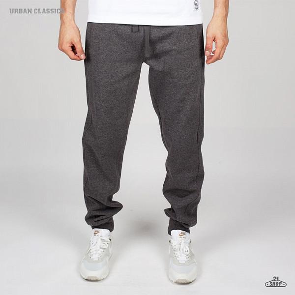 Брюки URBAN CLASSICS Melange Sweatpants (Black-Blue, M)  брюки urban classics spray dye sweatpants sky blue s